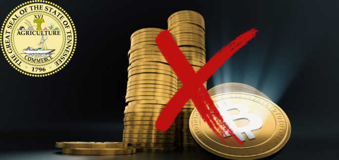 Палата представителей штата Теннеси запрещает инвестиционным пенсионным фондам покупать криптомонеты