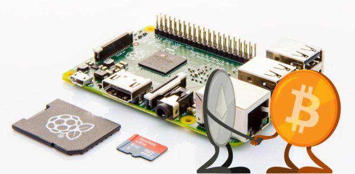 Raspberry Pi - устройство для майнинга криптовалют.
