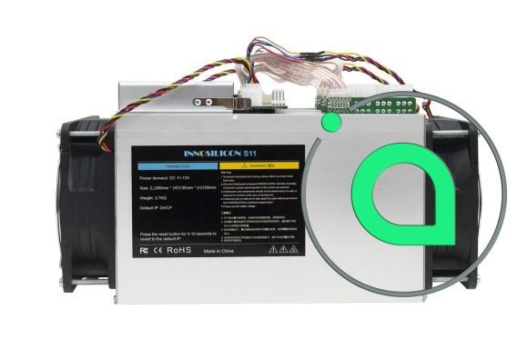 Innosilicon S11 SiaMaster - мощный ASIC для добычи Siacoin